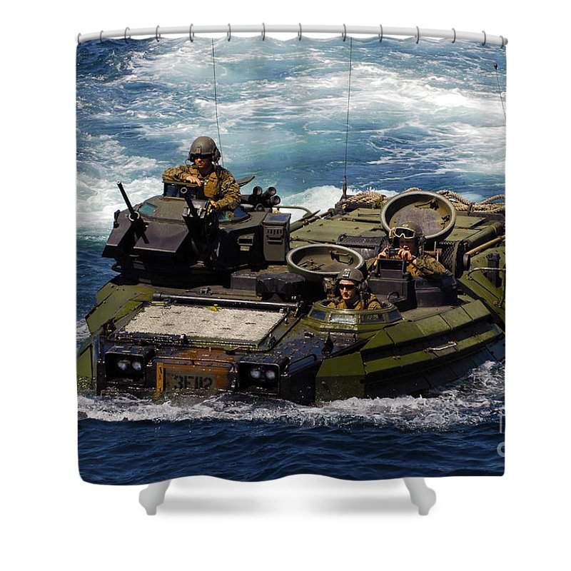 Marine Corps Infantry Shower Curtains Fine Art America