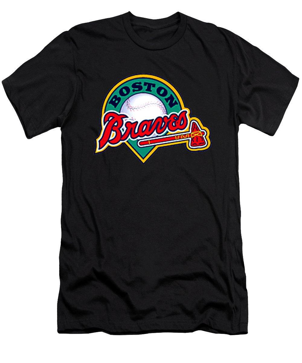 Boston Braves T-shirts Fine Art America