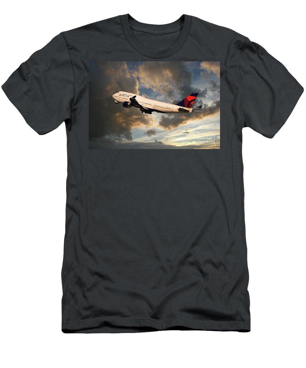 Delta Airlines T Shirt : delta, airlines, shirt, Delta, Airlines, Boeing, T-Shirt, Airpower
