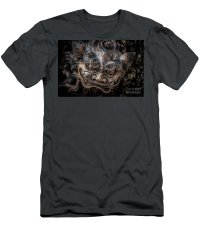 Okinawan Shisa Dog T-Shirt for Sale by Michael Easley