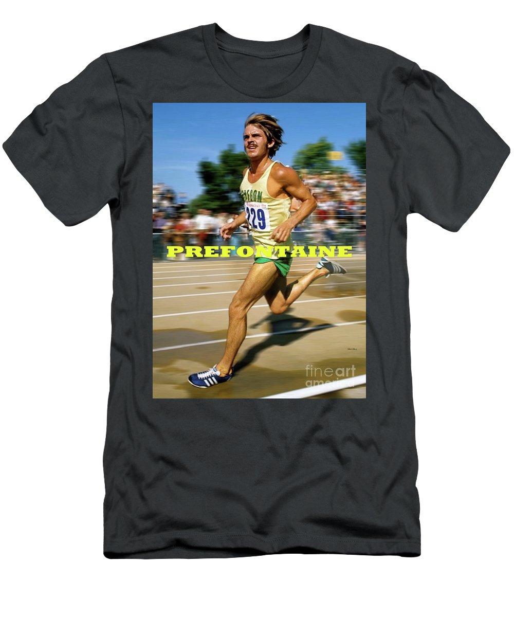 Steve Prefontaine Legend Oregon Ducks T-shirt