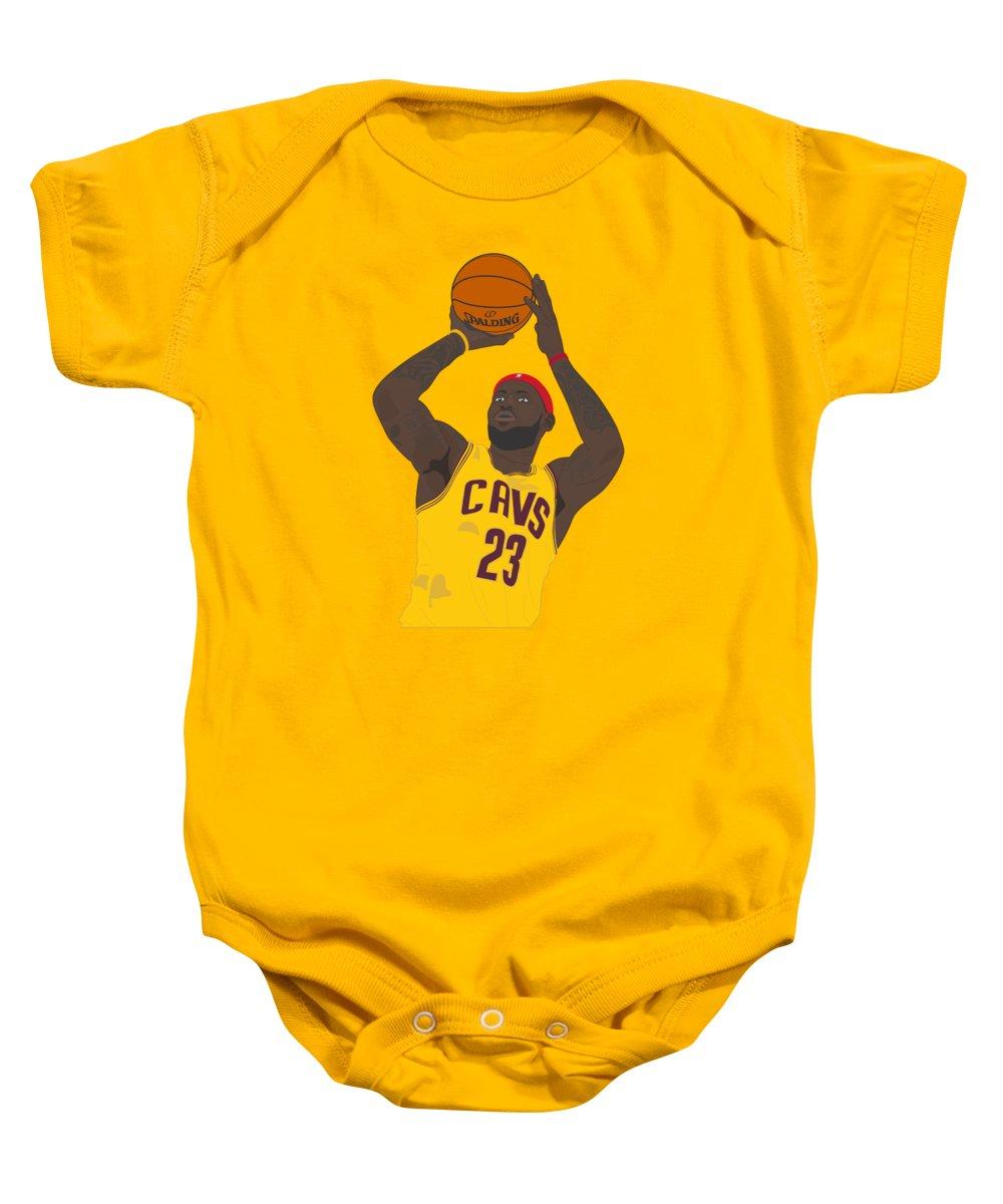 Lebron James Baby Pic : lebron, james, Cleveland, Cavaliers, LeBron, James, Onesie, Arthur, Graphics