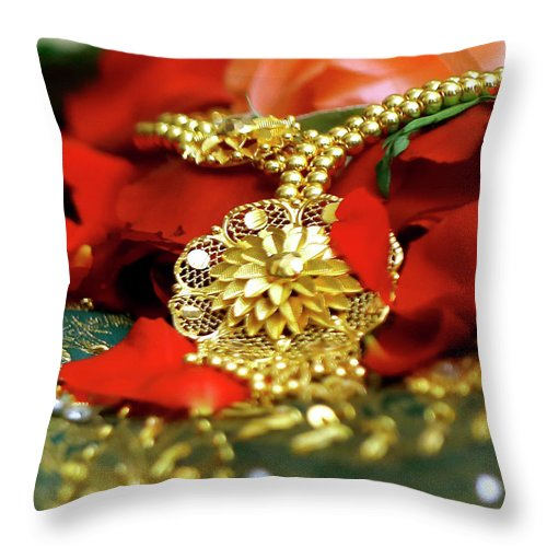 latest antique collections jewellery designs throw pillow