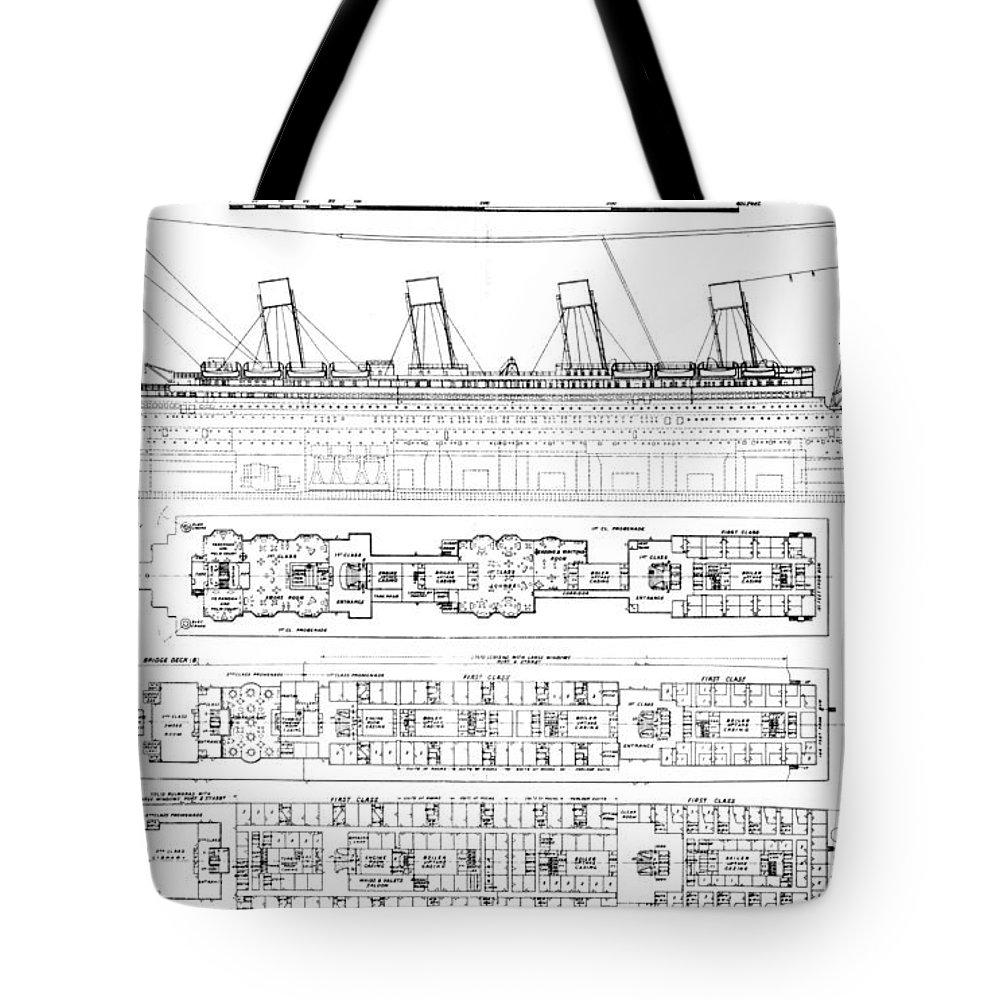medium resolution of longitudinal section and plan bulkhead exit diagram ocean liner boat