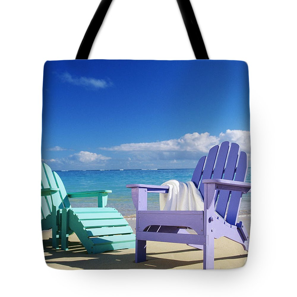 Beach Chairs On Sale Colorful Beach Chairs Tote Bag