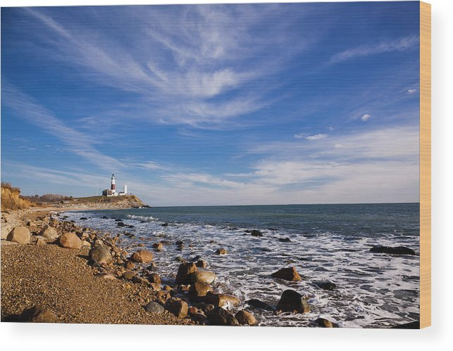 alex sofa montauk single ikea the coastline at point in long wood print by potemkin headland featuring photograph