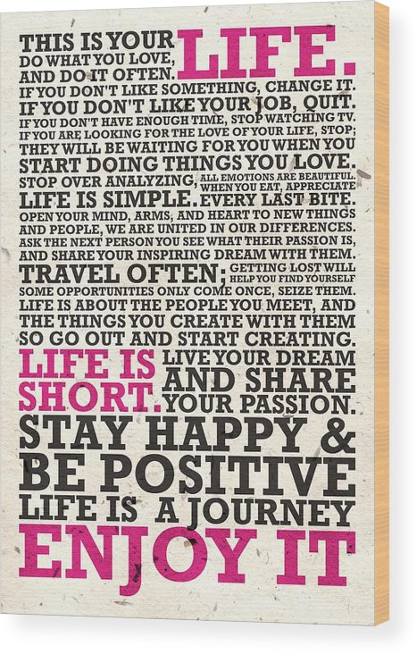 This Is Your Life Poster : poster, Inspirational, Quotes, Poster, Print
