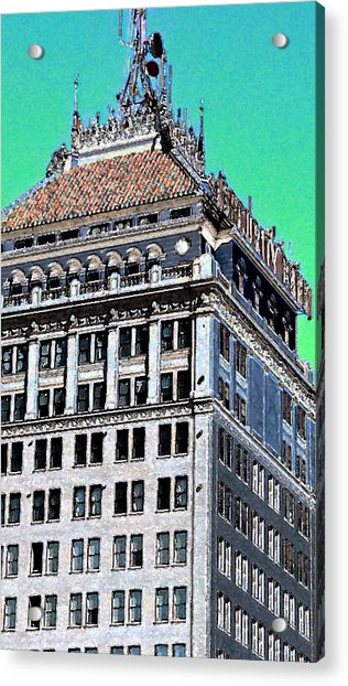 Security Bank Building Digital Art by Eric Forster
