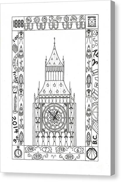 Capricious Time Drawing by Mary J Winters-Meyer