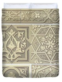 Arabic Tile Designs Drawing by Anonymous