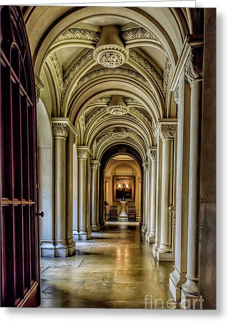 Mansion Hallway Photograph by Adrian Evans