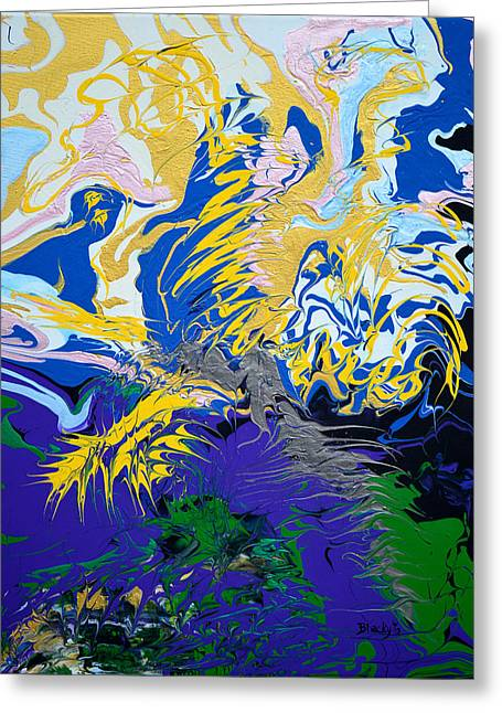 The Grinchs Thunder Painting By Donna Blackhall