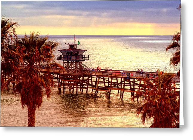 San Clemente Pier Photograph By David Ricketts