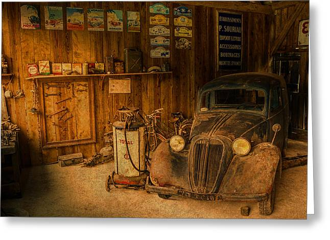 Truck Repair Truck Greeting Cards For Sale