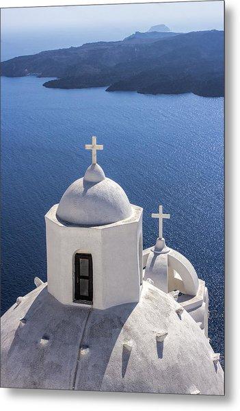 Santorini Blue Photograph by Joe Myeress