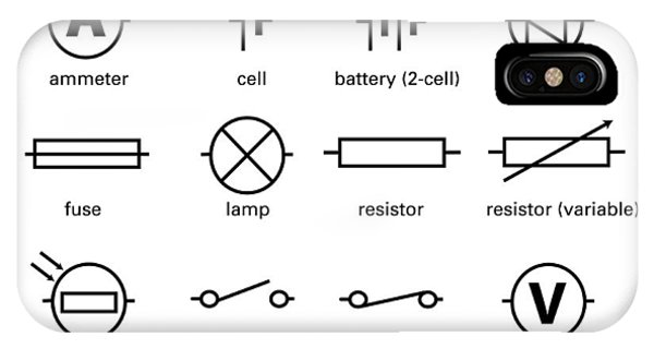 Standard Electrical Circuit Symbols Photograph by Sheila Terry