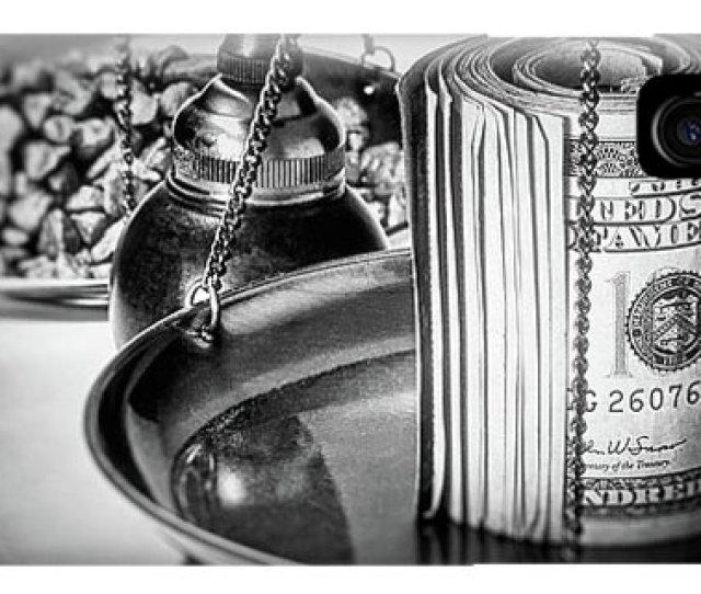 Weighing Iphone Case Cash Versus Gold By Tom Mc Nemar
