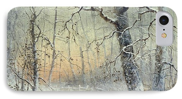 Winter Breakfast Painting By Joseph Farquharson