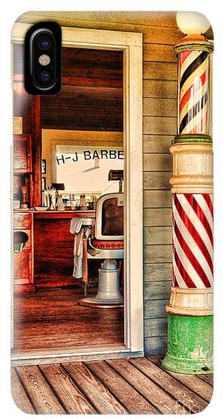 barber pole iphone xs