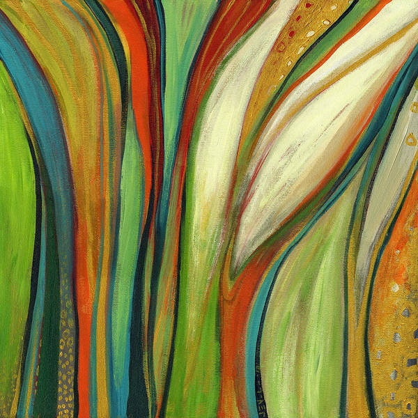 green abstract paintings fine