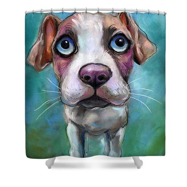 pitbull shower curtains fine art america