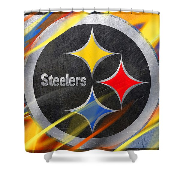 pittsburgh steelers shower curtains