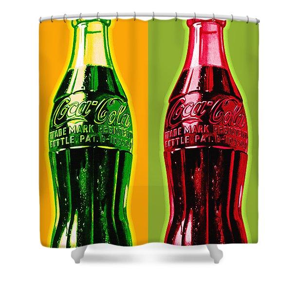 coca cola shower curtains fine art