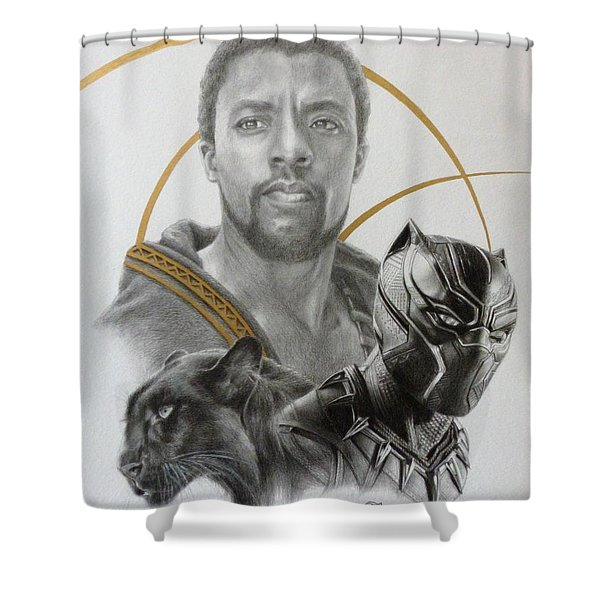 black panther shower curtains fine