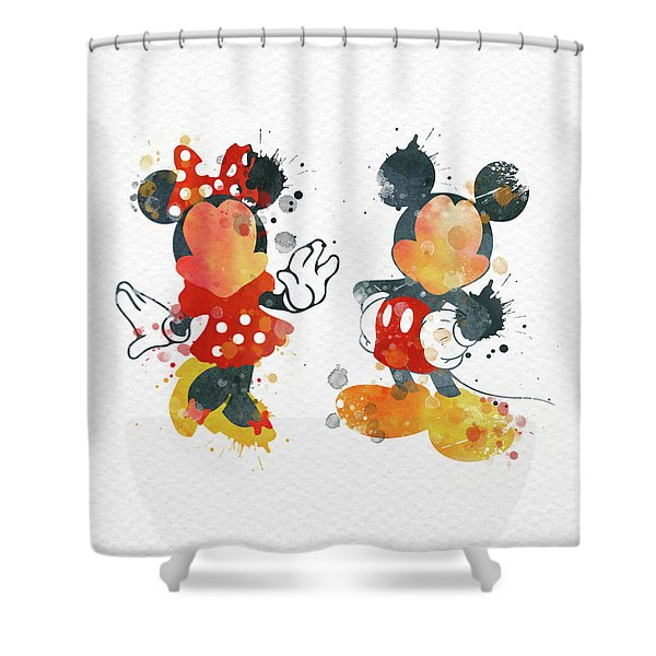 mickey mouse shower curtains fine art
