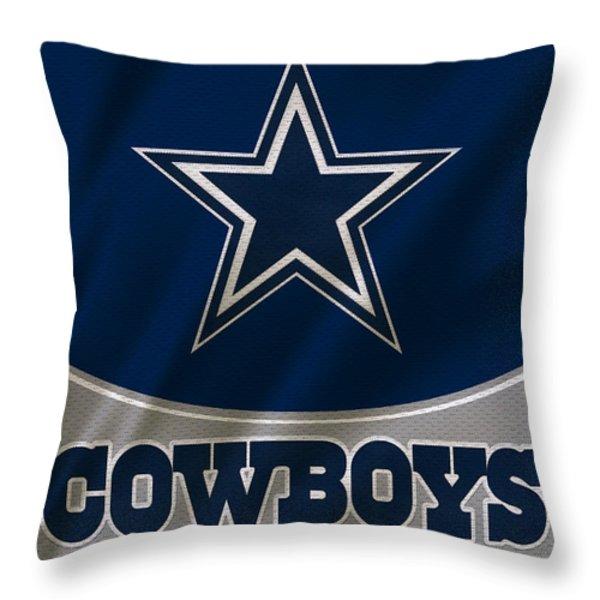 Dallas Cowboys Throw Pillows for Sale