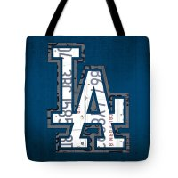 Los Angeles Dodgers Tote Bags for Sale