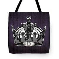 Los Angeles Kings Tote Bags