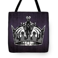 Los Angeles Kings Tote Bags | Fine Art America