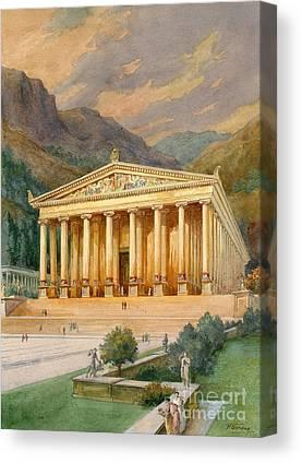 Temple D Artémis à éphèse : temple, artémis, éphèse, Temple, Artemis, America