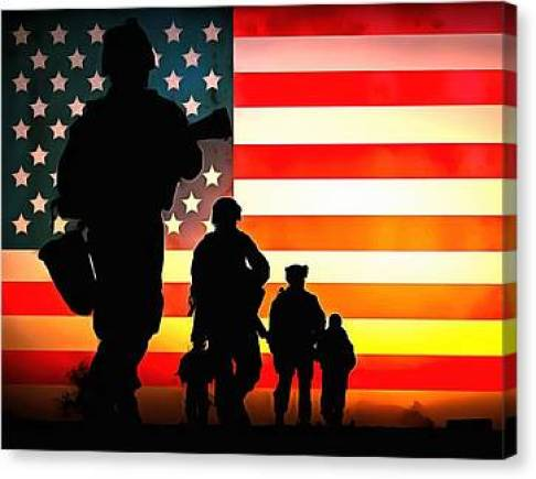 For God And Country Canvas Prints | Fine Art America