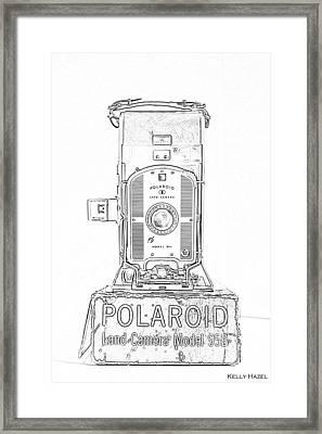 Polaroid Land Camera 95b Contour Photograph by Kelly Hazel