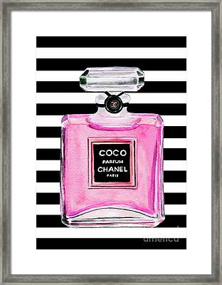 chanel perfume wall art pixels