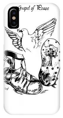Gospel Of Peace Drawing by Maryn Crawford