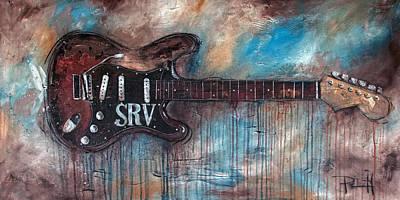 stevie ray vaughan posters fine art