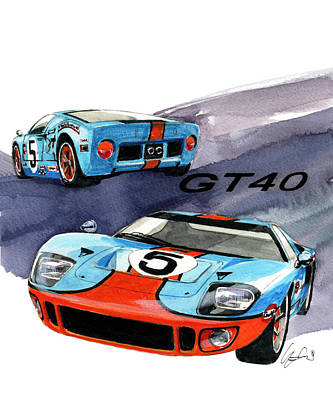 Ford Gt Poster : poster, Posters, America