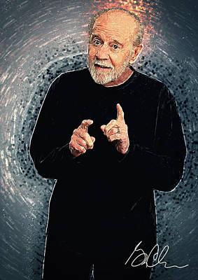 george carlin posters fine art america