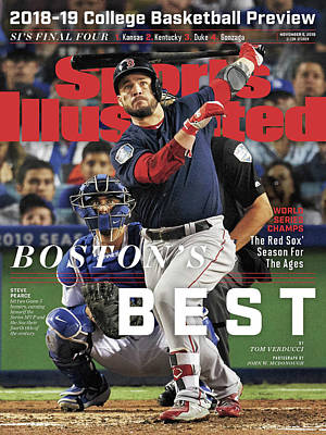sports illustrated boston red sox posters