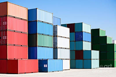 shipping container posters fine art