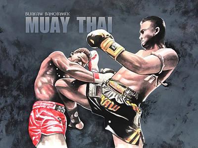 muay thai posters fine art america