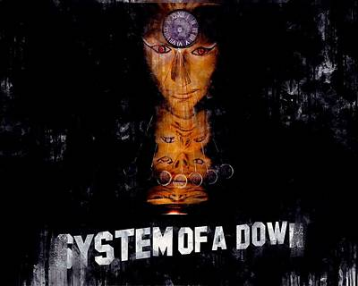 system of a down posters fine art america
