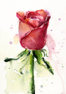 watercolor flower paintings fine