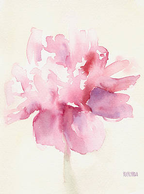 abstract flower paintings fine