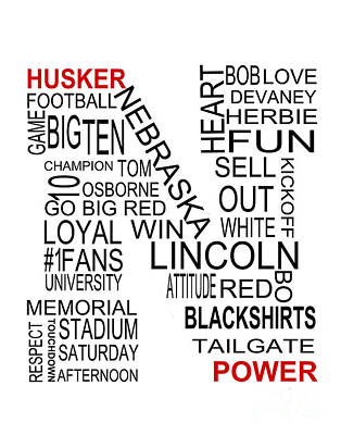 Husker Power Photograph by Jennifer Camp