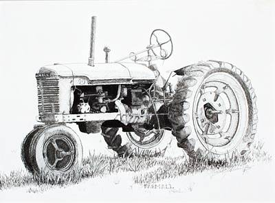 Old Tractor Drawings for Sale