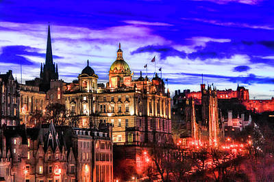Edinburgh in autumn - Market Street - Micah Offman